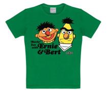 T-Shirt Ernie & Bert - Havin`Fun gelb / grün / orange