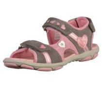 Sandalen grau / rosa