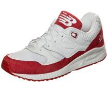 'w530-Ecc-B' Sneaker Damen rot / weiß