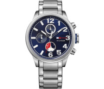 Multifunktionsuhr »Casual Sport 1791242« silber