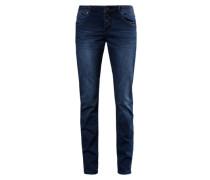 Relaxte Stretch-Jeans blau