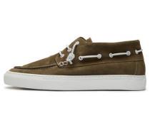 Wildleder-Schuhe grün