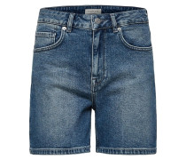 High Waist Jeansshorts blue denim