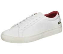 'l.12.12' Sneaker Herren karminrot / weiß