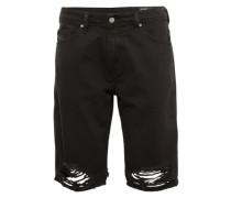 Jeans Shorts 'thoshort' black denim