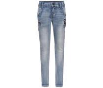 Slim Fit Jeans nitartin blau