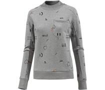 Sweatshirt Damen grau