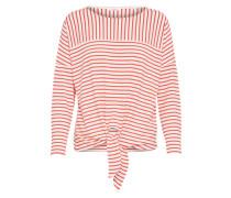 Sweatshirt 'Siplak' rot / weiß