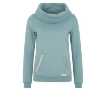 Sweatshirt 'Knit Mix Sw' grün