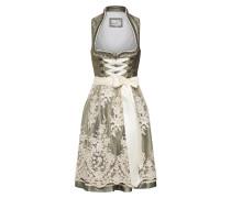 Kleid 'Galia' beige / grün
