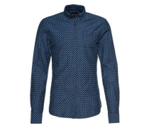 Hemd 'Ams Blauw slim fit shirt '