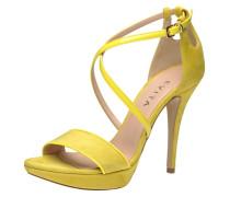 Damen Sandalette gelb