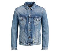 JACK & JONES Klassische Jeansjacke blau
