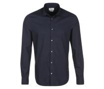 Hemd 'basic poplin shirt' schwarz