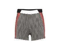 Shorts im Ethno-Look 'Shezag' schwarz / mischfarben
