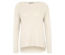 Pullover aus Grobstrick weiß