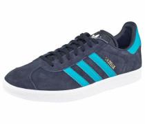 Sneaker 'gazelle' türkis / dunkelblau