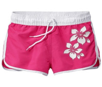 Shorts dunkelpink