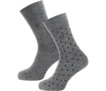 Socken 'Ida' grau