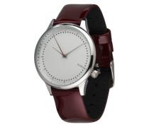 Armbanduhr 'Estelle' bordeaux