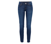 'halle Broken Twill' Skinny Jeans blue denim