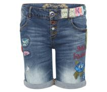 Bermuda-Shorts 'Denim-Centauri' blue denim / mischfarben