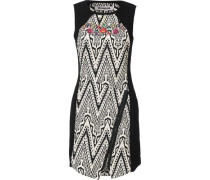 Kleid 'vestoregon' schwarz / weiß