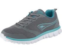 K-March Sneakers neonblau / grau