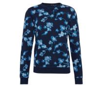 Pullover 'Ams Blauw allover print indigo sweat'