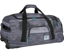 Sport 2-Rollen Reisetasche 70 cm grau / dunkelgrau