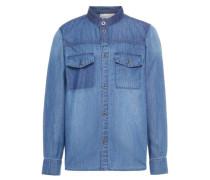 Langärmeliges Jeanshemd blue denim