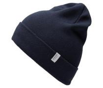 Klassische Mütze saphir