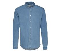 Hemd 'Denim Shirt L/s' blau