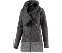 Fleecejacke Damen grau