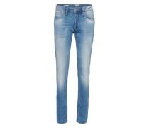 Jeans Straight Fit blau