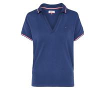 Polo-Shirt'THDW' dunkelblau