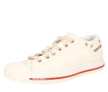 Sneaker 'exposure Low' creme / rot