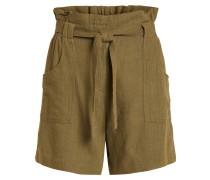High Waist Shorts khaki