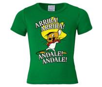 T-Shirt 'Speedy Gonzales - Looney Tunes' grün