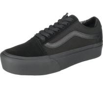 Old Skool Platform Sneakers schwarz