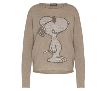 Pullover 'RN Peanuts Cool Blooded' braun