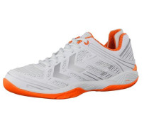 Handballschuhe 'Omnicourt Z6' orange / weiß