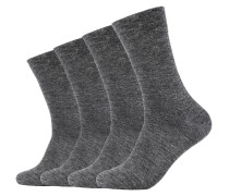 Socken Mika ca-soft 4er-Pack mit Bund ohne Gummidruck