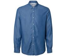 Klassisches Hemd blau