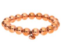 Armband Edelstahl Rosegold 'Bold Spheres' rosegold
