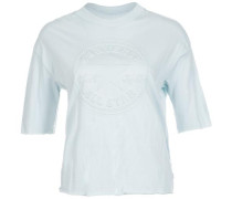 Embossed Chuck Patch T-Shirt Damen hellblau