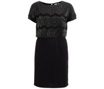 Kleid Perle Detail schwarz