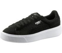 'Basket Platform DE' Sneaker schwarz