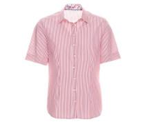 Kurzarm Bluse Comfort FIT pink