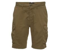 Shorts 'Garment dyed Cargo' khaki